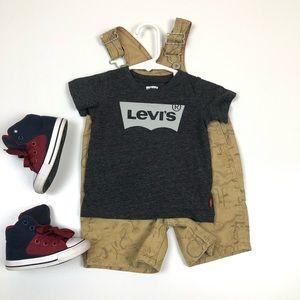 Levi's T-shirt Dark Grey baby boy Size 12 months